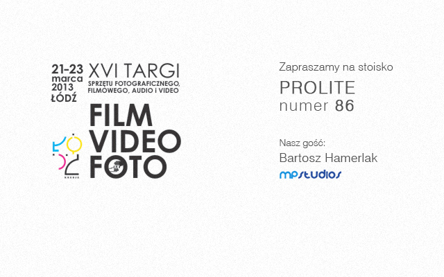 Targi Video Foto 2013 Fair in Lodz